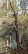 Clara Southern Yarra at Warrandyte oil painting