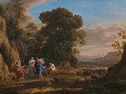 Claude Lorrain The Judgement of Paris oil painting reproduction