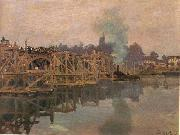 Argenteuil, the Bridge under Repair