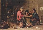 David Teniers the Younger Drei musizierende Bauern oil painting