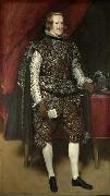 Diego Velasquez, Philip IV in Brown and Silver