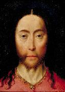 Dieric Bouts Head of Christ oil painting reproduction
