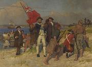 Landing of Captain Cook at Botany Bay