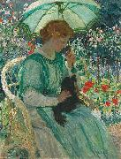 The green parasol,