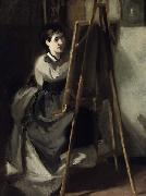 Portrait of Sister as Artist