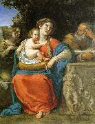 Francesco Albani The Holy Family oil painting reproduction