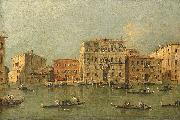 View of the Palazzo Loredan dell'Ambasciatore on the Grand Canal, Venice,