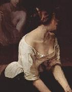 Francesco Hayez Bad der Nymphen oil painting reproduction