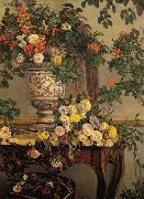 Frederic Bazille Flowers oil painting reproduction