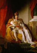 Emperor Franz I. of Austria wearing the Austrians imperial robes