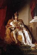 Friedrich von Amerling Kaiser Franz I von osterreich oil painting reproduction