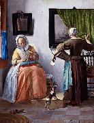 Gabriel Metsu Woman Reading a Letter oil painting reproduction
