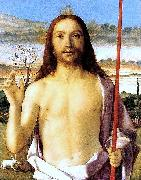 Gentile Bellini Christ Blessing oil painting reproduction