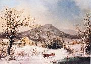 Winter in the Country, Distant Hills