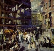 George Wesley Bellows: Cliff Dwellers