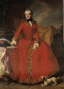 Georges desmarees Portrait of Maria Anna Sophia of Saxony oil painting
