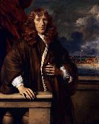 Gerbrand van den Eeckhout Portrait of an officer of the Dutch East India Company oil painting
