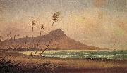 Gideon Jacques Denny Waikiki Beach, oil painting reproduction
