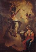 Giovanni Battista Tiepolo The Annunciation oil painting reproduction