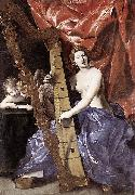 Venus Playing the Harp