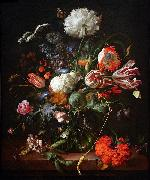 Jan Davidsz de Heem Vase of Flowers