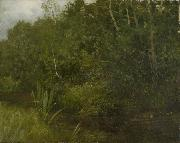 HOFFMANN, Hans Landscape with a pond oil painting