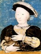 HOLBEIN, Hans the Younger Boy with marmoset oil painting reproduction