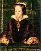 Hans Eworth Mary I of England oil painting
