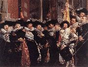 Officers and sergeants of the St Hadrian Civic Guard on their retirement in 1630