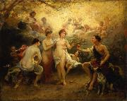 Henri-Pierre Picou The Judgement of Paris oil painting reproduction