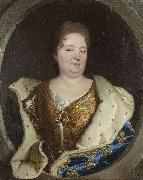 Hyacinthe Rigaud Portrait of Elisabeth Charlotte of the Palatinate Duchess of Orleans oil painting