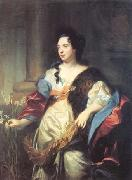 Hyacinthe Rigaud Portrait of Marie Cadenne oil painting