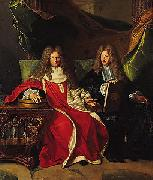 Pierre-Cardin Lebret (1639-1710) and his son Cardin Le Bret (1675-1734),