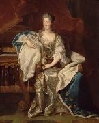 Hyacinthe Rigaud Portrait of Marie Anne de Bourbon oil painting