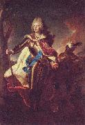 Hyacinthe Rigaud Portrait of Friedrich August II of Saxony oil painting artist