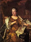 Hyacinthe Rigaud Duchess of Orleans oil painting reproduction