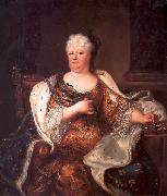 Portrait of Elisabeth Charlotte of the Palatinate (1652-1722), Duchess of Orleans