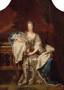 Full portrait of Marie Anne de Bourbon Dowager Princess of Conti