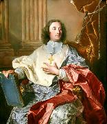 Hyacinthe Rigaud Portrait of Charles de Saint-Albin, Archbishop of Cambrai oil painting artist