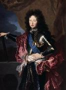 Hyacinthe Rigaud Portrait of Philippe II, Duke of Orleans (1674-1723), Regent de France oil painting artist