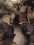 Ilja Jefimowitsch Repin The Washer Women oil painting