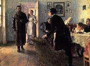 Oil on canvas painting by Ilya Repin,