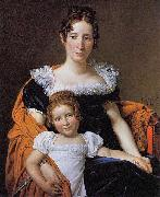 Portrait of the Countess Vilain XIIII and her Daughter Louise