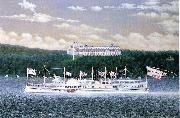 Daniel Drew, Hudson River steamboat built