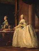 Catherine II of Russia in the mirror