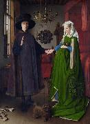 Untitled, known in English as The Arnolfini Portrait, The Arnolfini Wedding, The Arnolfini Marriage, The Arnolfini Double Portrait, or Portrait of Gio