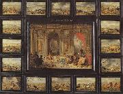 Jan Van Kessel the Younger Gemalde Der Erdteil Afika oil painting artist