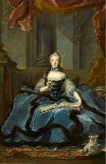 Jean Marc Nattier Marie Adelaide de Bourbon oil painting reproduction