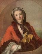 Jean Marc Nattier Countess Tessin oil painting reproduction