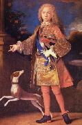 Jean Ranc Portrait of Ferdinand of Bourbon as a child oil painting